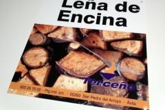 Cartel Polipropileno - Leña