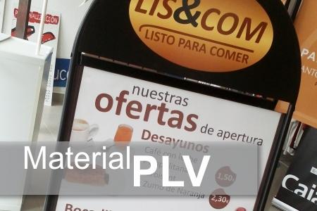 Material PLV