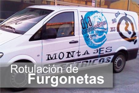 Rotulacion - Furgonetas