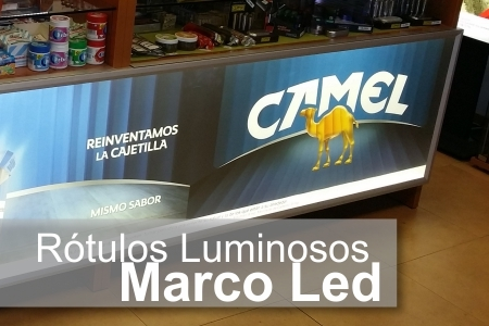 Tull Color - Pagina - Rotulos Luminosos Frontal Marco Led
