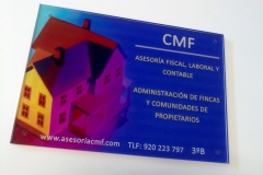 Placa Metacrilato