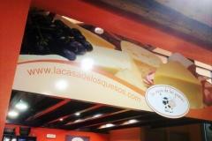 Placa PVC - La Casa de los Quesos