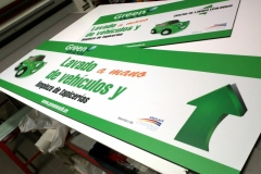 Placas PVC - Green Wash