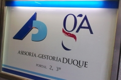 Placa PVC - Duque