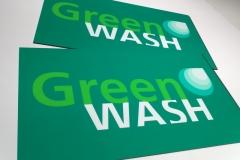 Placa PVC - Green Wash