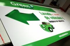 Placa PVC - Green Wash 2